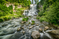 Chittenango Falls by Sue Armstrong