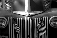 Patriotic Ford Black and White small